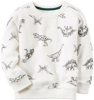 Boys 4-8 Carter's Dinosaur Sweatshirt $26 thestylecure.com