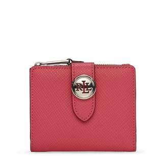 Ralph Lauren Charleston Compact Wallet Pink