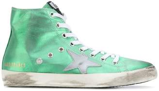 Golden Goose Superstar hi tops