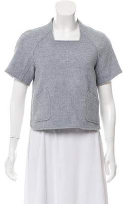 Theyskens' Theory Structured Crop Top