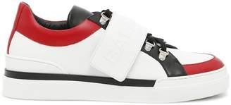 Balmain Multicolor Leather Sneakers