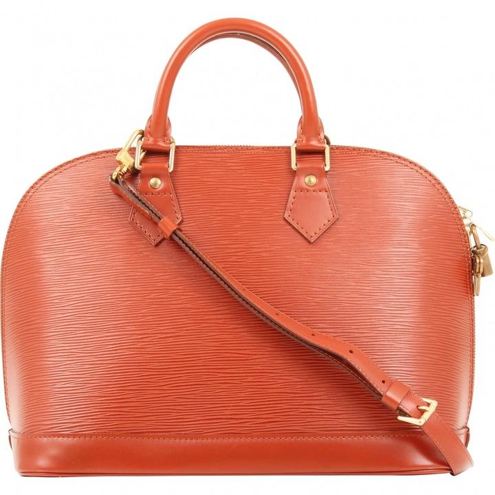 Louis VuittonAlma leather handbag