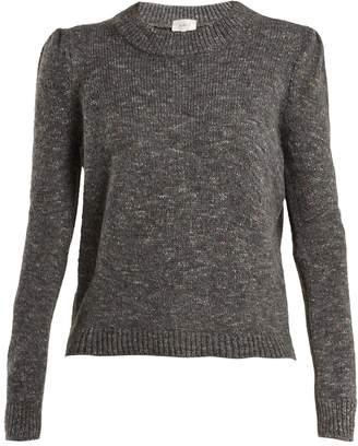 Isa Arfen Speckled wool-blend sweater
