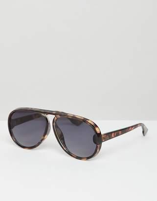 aviator sunglasses in tort