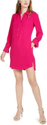Trina Turk Welwood Long-Sleeve Shirt Dress