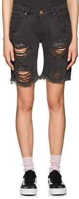 NSF Women's Jane Distressed Denim Shorts
