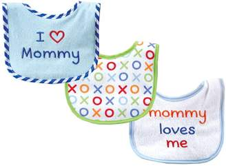 Luvable Friends I Love Mommy and Daddy Baby Bibs