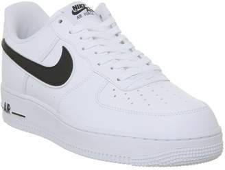 Force One Trainers White Black
