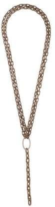 Sidney Garber 18K Diamond Noble Link Necklace