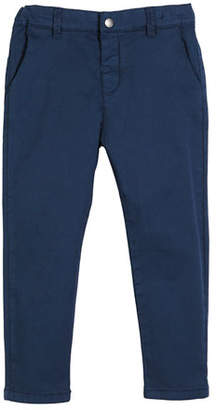 Mayoral Basic Stretch Twill Trousers, Size 12-36 Months