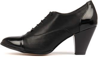 I Love Billy Curio Black mix Shoes Womens Shoes Heeled Shoes
