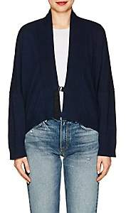 Zadig & Voltaire WOMEN'S TANYA SNAKE-PRINT COTTON CARDIGAN - NAVY SIZE M/L