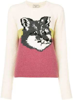 MAISON KITSUNÉ fox sweater