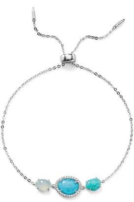 Nadri Isola Turquoise Slider Bracelet