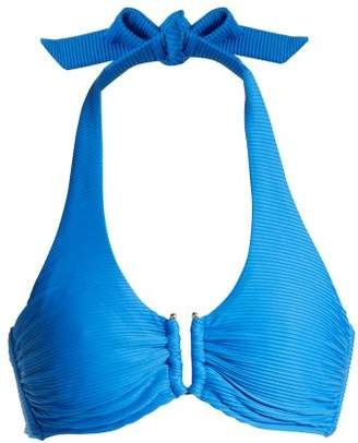 Heidi Klein Muscat Bikini Top - Womens - Blue