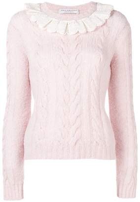 Philosophy di Lorenzo Serafini long-sleeve fitted sweater
