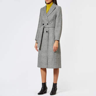 Whistles Women's Penelope Belted Check Coat