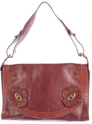 Mulberry Leather Shoulder Bag $225 thestylecure.com