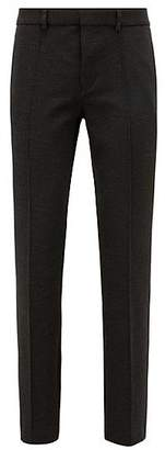 HUGO BOSS Tapered-fit trousers in interlock stretch jersey