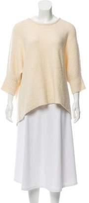 Michael Kors Oversize Scoop-Neck Sweater