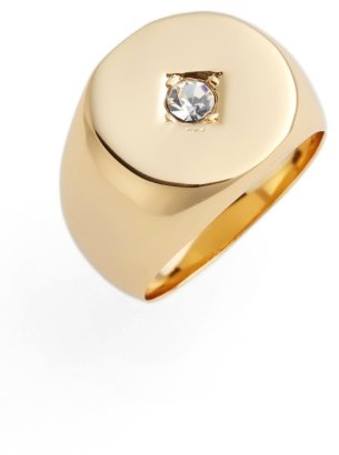 Women's Jules Smith Tulum Signet Ring $40 thestylecure.com