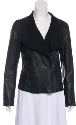 Saks Fifth Avenue Casual Leather Jacket