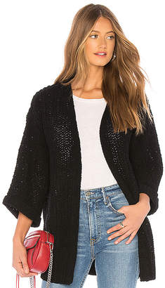 MinkPink Knit Oversized Cardigan