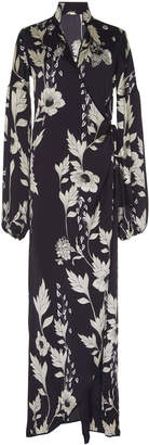 Johanna Ortiz Ayahuasca Silk Satin Kimono