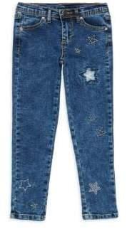 Kate Mack Little Girl's Star Embellished Jeans
