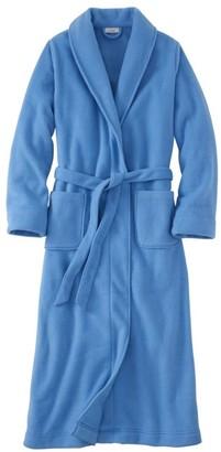 L.L. Bean L.L.Bean Women's Winter Fleece Robe, Wrap-Front