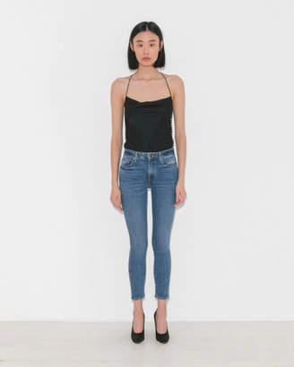 Khaite Kassandra Mid Rise Ankle Skinny Jeans