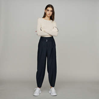 Maje Wide-leg pants with tight ankles