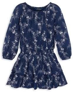 Ralph Lauren Little Girl's& Girl's Boho Printed Dress