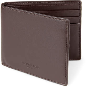 Michael Kors Leather Slimfold Wallet