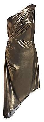 Ramy Brook Women's Susanna Metallic Asymmetrical Dress