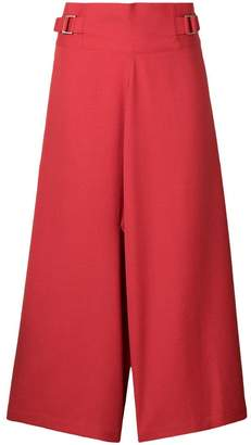 Issey Miyake 132 5. cropped wide leg trousers