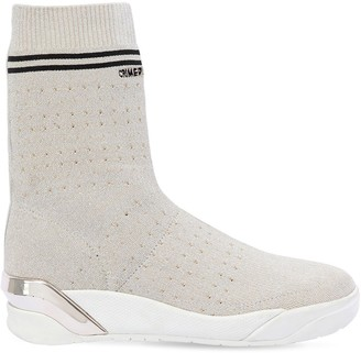 Crime 30mm Stretch Knit Sock Sneakers