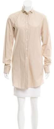 Dolce & Gabbana Pointed Collar Button-Up Tunic