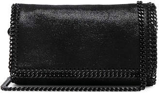 Stella McCartney Falabella Black Chain Crossbody in Black | FWRD