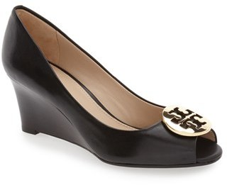Women's Tory Burch 'Kara' Wedge Pump $265 thestylecure.com
