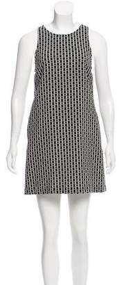 Alice + Olivia Jacquard Mini Dress