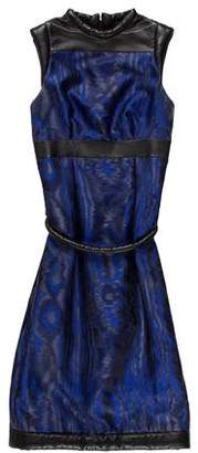 Christopher Kane Silk Patterned Dress