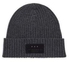 John Varvatos Ribbed Knit Wool Hat