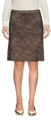 Thinple Knee length skirt