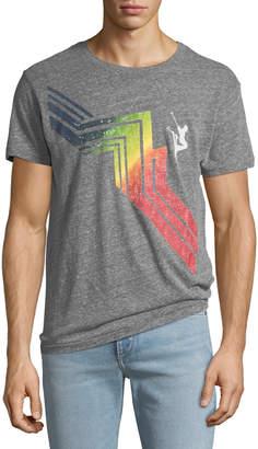 Sol Angeles Men's Cascade Crewneck Graphic T-Shirt
