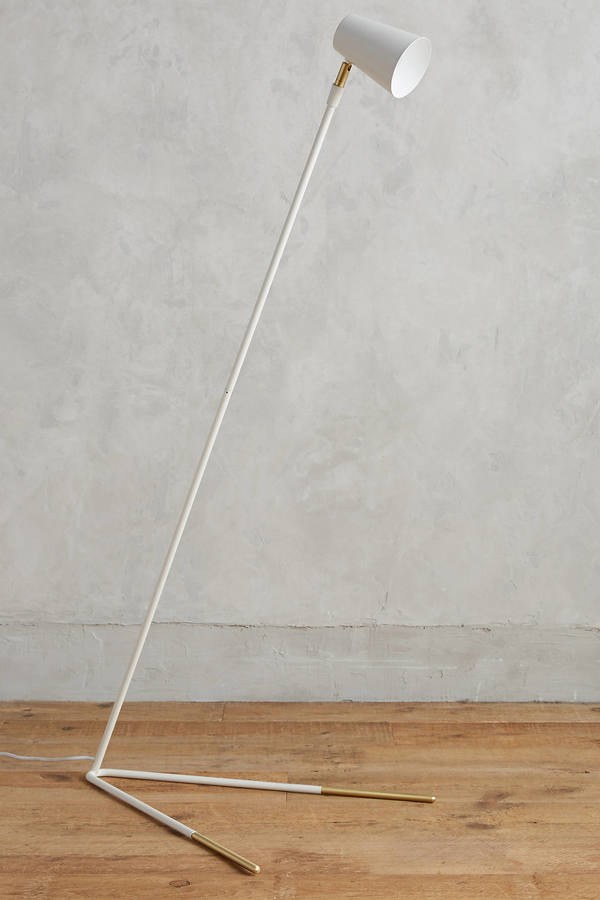 AnthropologieAnthropologie Gold-Dipped Floor Lamp
