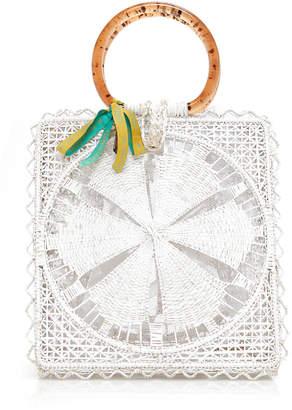 Silvia Tcherassi Luriza Iraca Palm Bag
