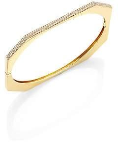 Ron Hami Women's Diamond & 18K Yellow Gold Bangle Bracelet
