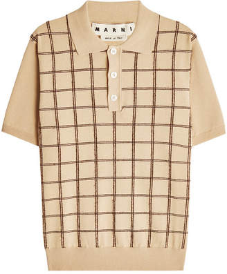 Marni Cotton Polo Shirt
