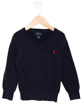 Ralph Lauren Boys' Logo Embroidered Sweater